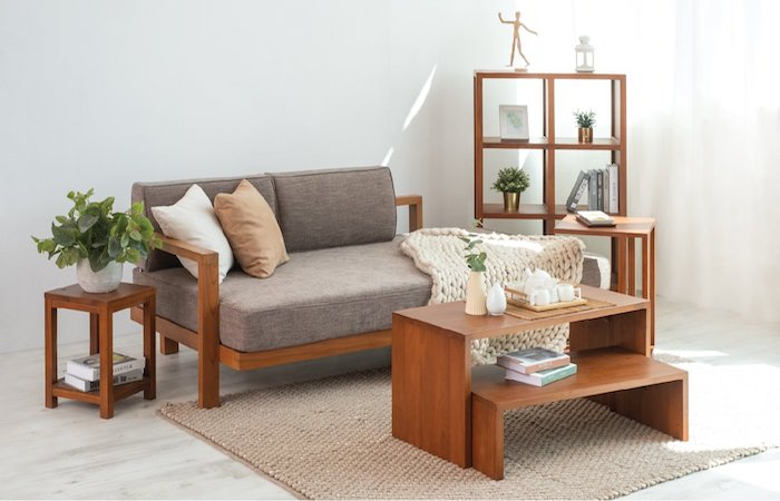 best daybed sofa in Singapore, by Scanteak