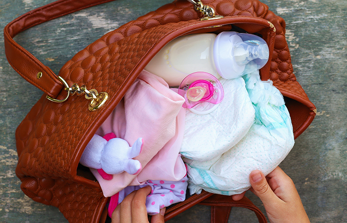 nappy bag for family visiting Singapore Zoo