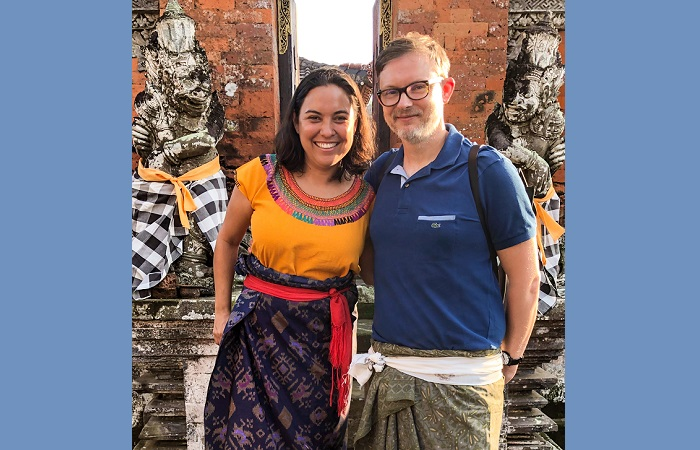 How to find true love when you live overseas - Erika Unger and Jason Moggeridge