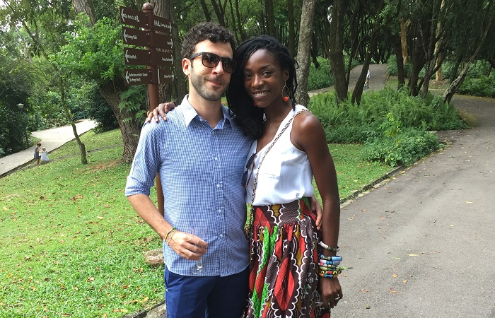 How to find true love in a foreign country - Ify and Massimiliano Bravin