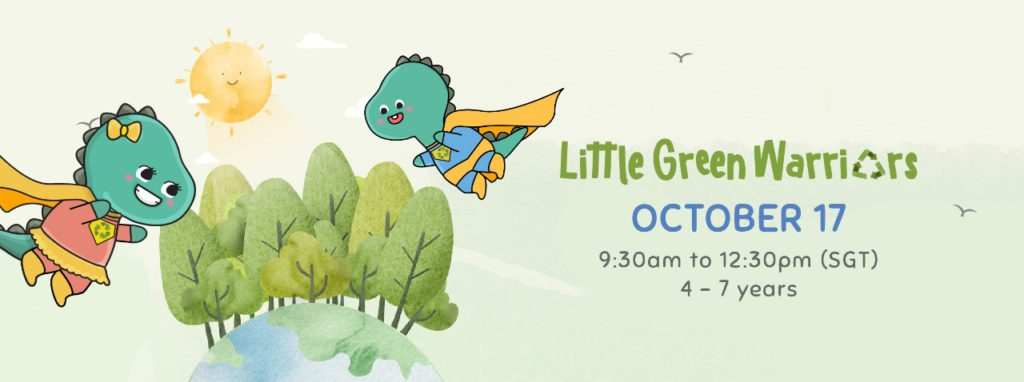 little green warriors camp by dinostaury happening in october