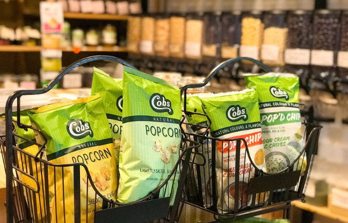 two sisters pantry sustainable shopping popcorn