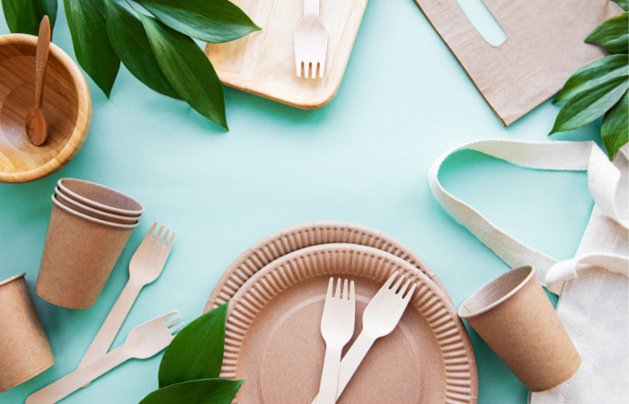 eco friendly disposables wooden