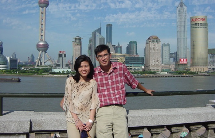 How to find true love when you live in a foreign country - Oliver and Candy Kuan in Shanghai